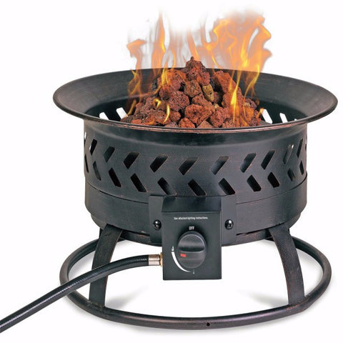 LP Gas Portable Fire Pit - The Fire Pitz