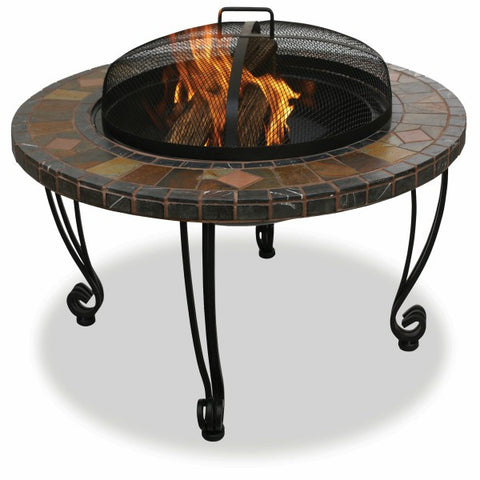 Slate And Marble Fire Pit - The Fire Pitz