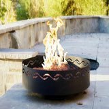 Fire Surfer Fire Pit - The Fire Pitz | Propane