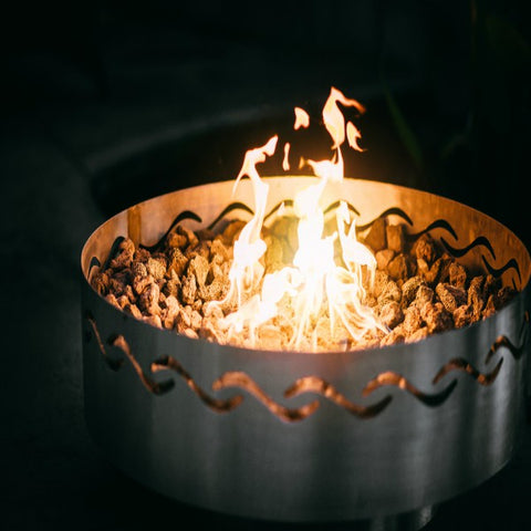Fire Surfer Fire Pit - The Fire Pitz | Natural Gas
