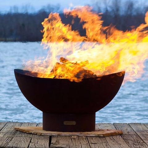 Scallops Fire Pit - The Fire Pitz