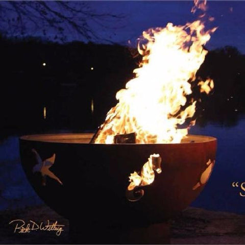 Sea Creatures Fire Pit - The Fire Pitz