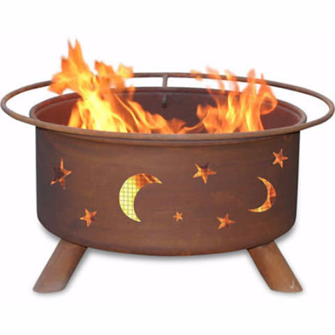 Evening Sky Fire Pit - The Fire Pitz
