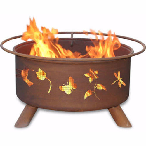 Flower & Garden Fire Pit - The Fire Pitz