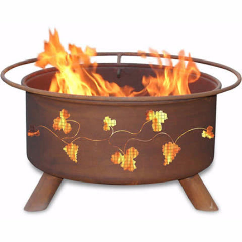 Grapevines Fire Pit - The Fire Pitz