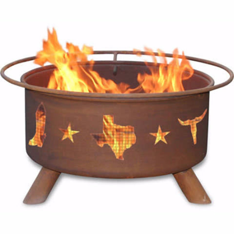 Lone Star Fire Pit - The Fire Pitz