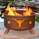 Texas Longhorn Fire Pit - The Fire Pitz
