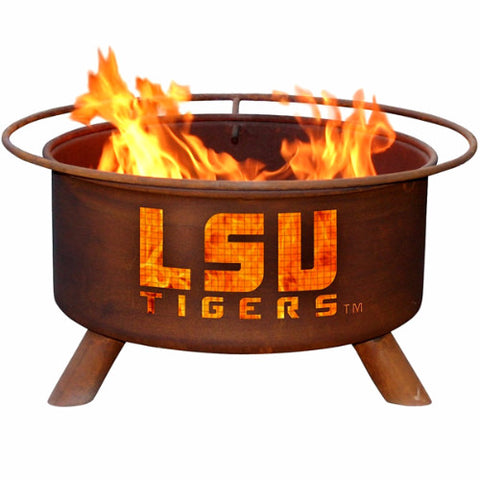 LSU Fire Pit - The Fire Pitz