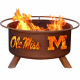 Ole Miss Fire Pit - The Fire Pitz