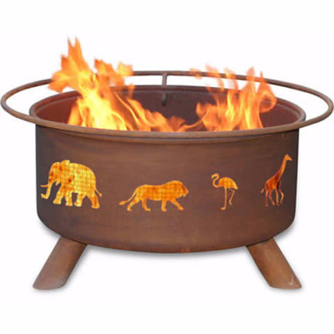 Safari Fire Pit - The Fire Pitz