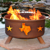 Texas State & Stars - The Fire Pitz