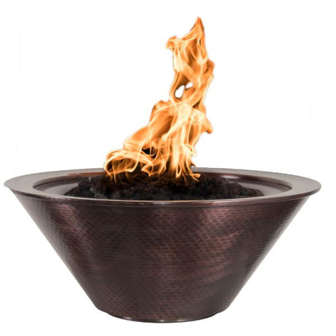 Cazo Copper Round Fire Bowl