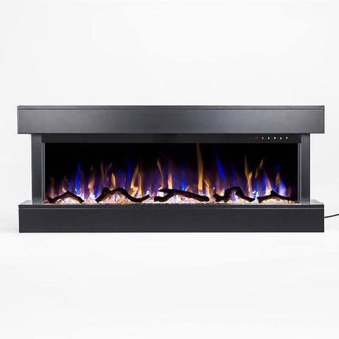 "Chesmont - 50"" Wall Mounted Electric Fireplace - The Fire Pitz 