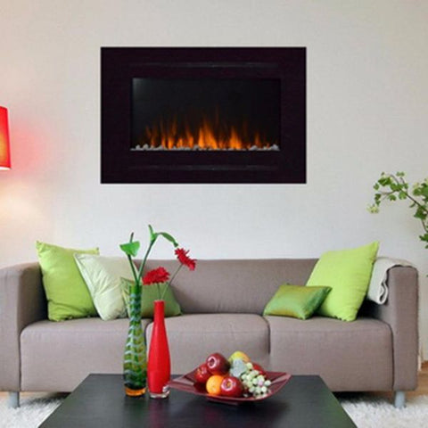 "Forte 40"" Recessed Electric Fireplace"