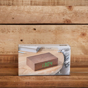 Brick Wooden Clock