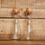Glass & Mango Cruet Set/2