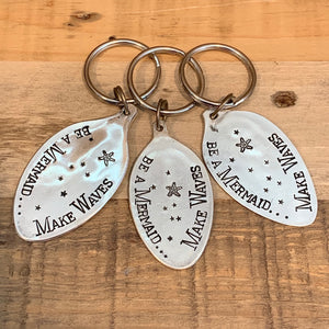 Stamped Spoon Key Chain