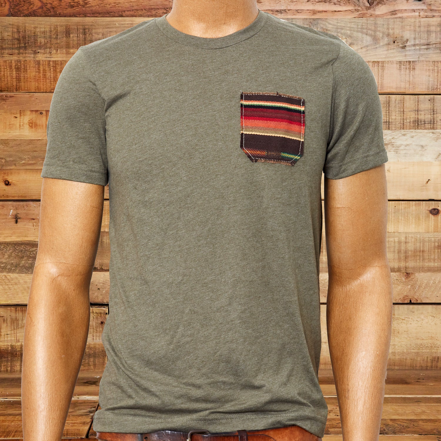 ADKTD Mens Pocket Tee, Military