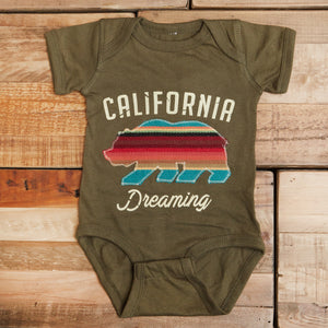 California Dreaming Onesie