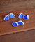 Sterling Sea Glass Studs