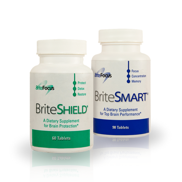 BriteSMART/BriteSHIELD Complete Brain Nutrition Pack