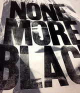 """None More Black"" print"