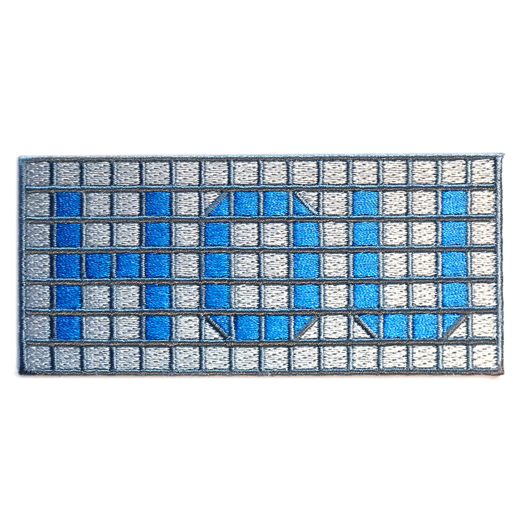 HOU Blue Tile Patch
