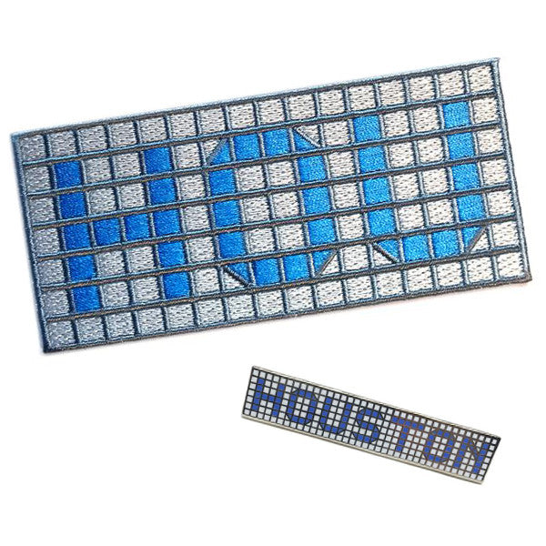 Blue Tile Pin & Patch Combo