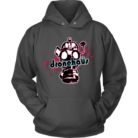 Dronehaus Gas Mask Hoodie