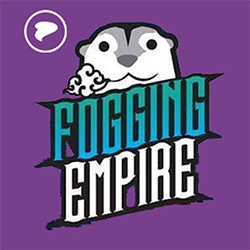Fogging Empire by Godfather Co Logo