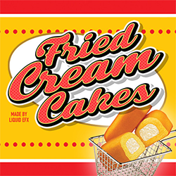 Fried Cream Cakes by Liquid EFX E-liquid Logo