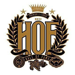 HOF - Hall of Fame E-liquid Logo