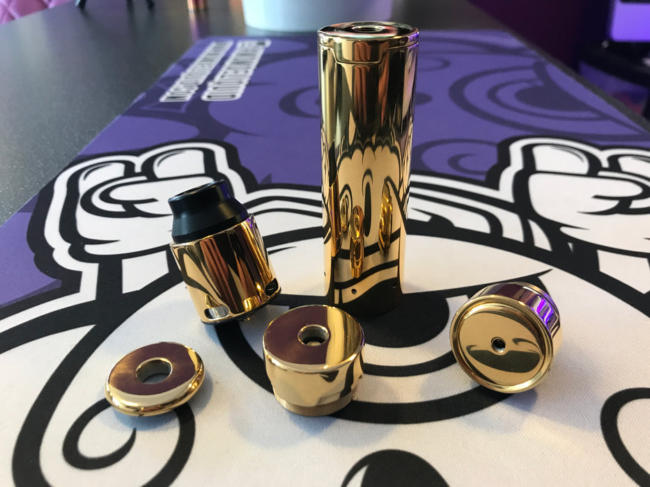 Geekvape 24k Gold Plated Tsunami Mech Kit