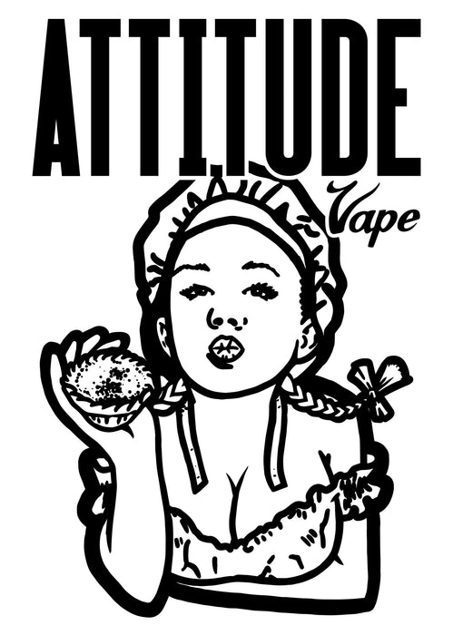 Custard Tart E-liquid Logo by Attitude Vape