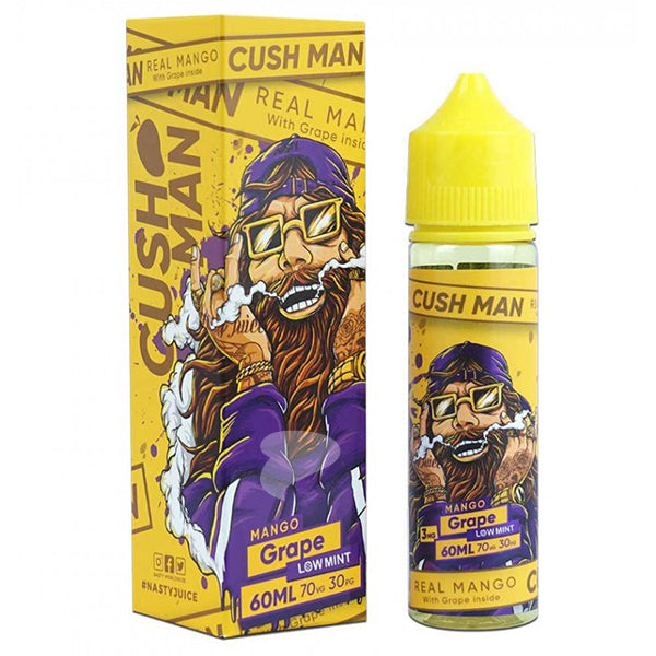 Cush Man Series Mango Grape 60ml by Nasty Juice