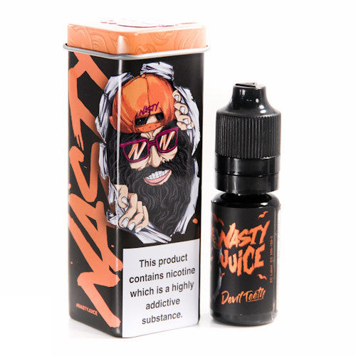 10ml Bottle of Devil Teeth by Nasty Juice