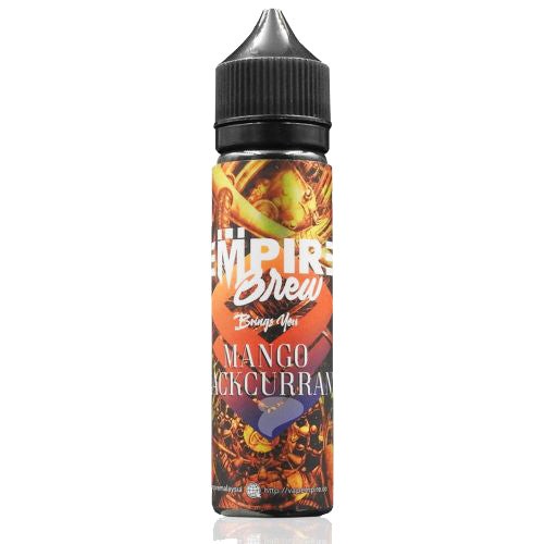 50ml 0mg Shortfill Bottle of Empire Brew's Mango Blackcurrant