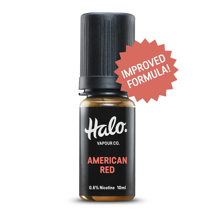 10ml E-liquid Bottle of American Red by Halo
