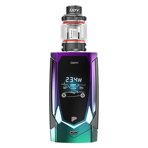 iJoy Avenger 270 Kit Mirror Rainbow One (Black Tank)