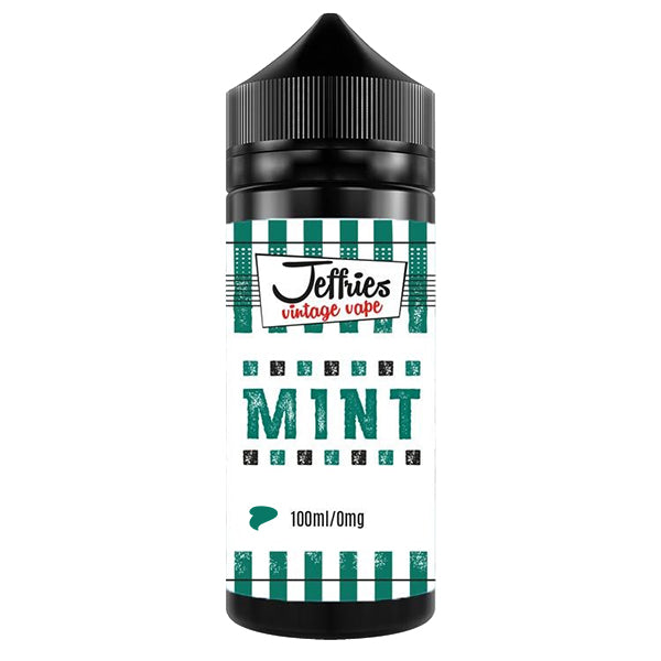 100ml Bottle of Mint by Jeffries Vintage Vape
