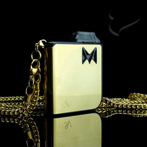 Mi-Pod Gold Metal with Gold Neck Chain