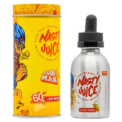 A 50ml Shortfill Bottle of Cush Man by Nasty Juice