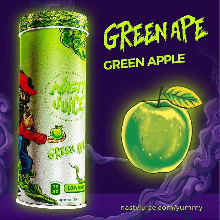 Green Ape Green Apple by Nasty Juice Banner