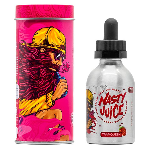 A 50ml Shortfill Bottle of Trap Queen by Nasty Juice