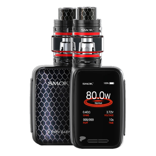 Smok X-Priv Baby Vape Kit with Big Baby Prink Tank