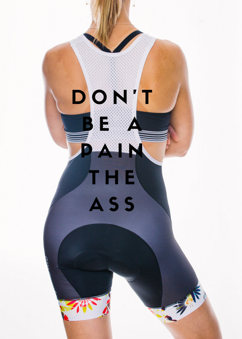 Cycling Shouldn't be a Pain in the Ass // Up Your Bib Game