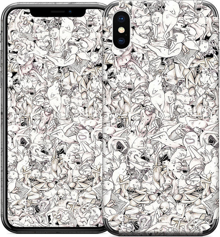 Rouge Cuddle Puddle iPhone Skin