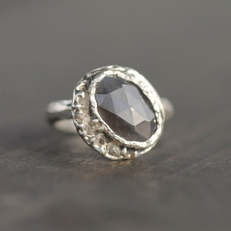 Raw Moon Ring