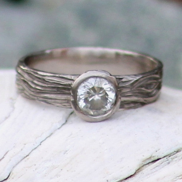 Driftwood Engagement Ring