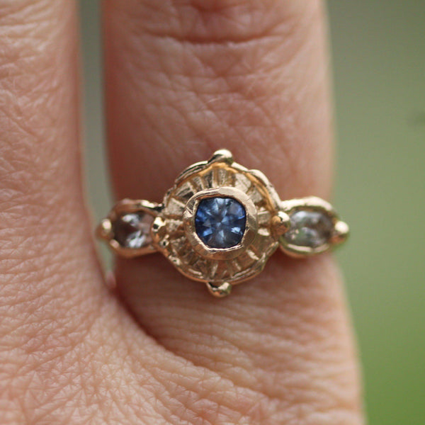 Beautiful 14k gold ring pictured on hand